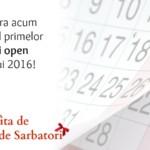 Calendar traininguri 2016. Tarife reduse cu pana la 35%!