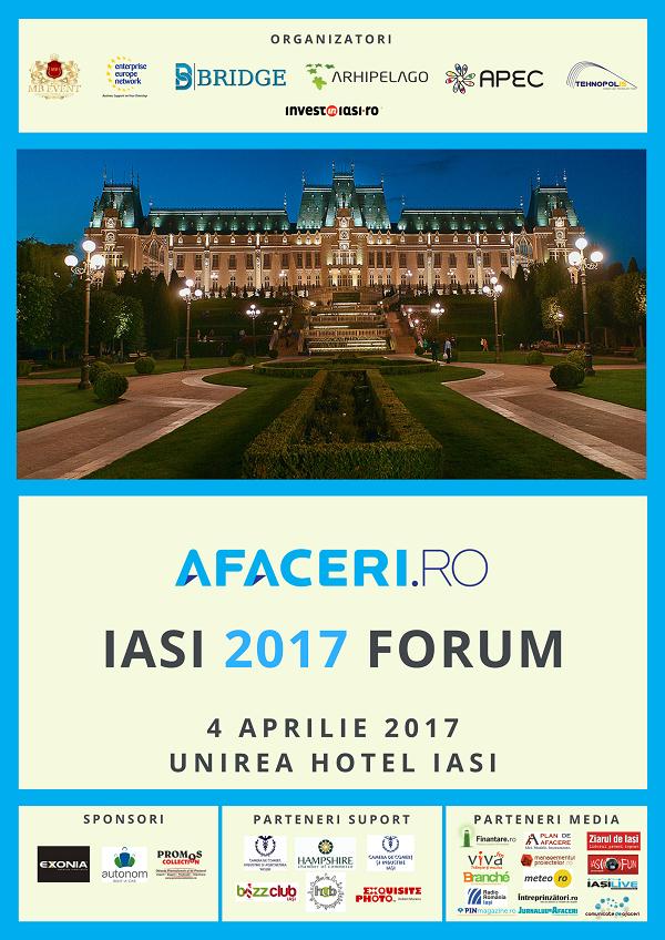 Marti, 4 aprilie 2017 - Forum Afaceri.ro Iasi